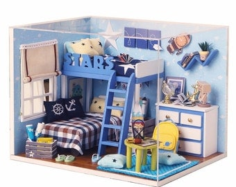 DIY Light Cover Starry Sky Model Dollhouse