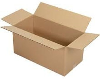 """Shipping Boxes 25 Pack 24"""" x 12"""" x 12"""" Single Wall 32 ECT Shipping Box, Storage Box, Moving Boxes"""