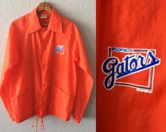 1980's UF Florida Gators University of Florida Anorak Vintage Jacket by Auburn Sportswear