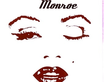 Marilyn Monroe Car Window Vinyl Decal Sticker