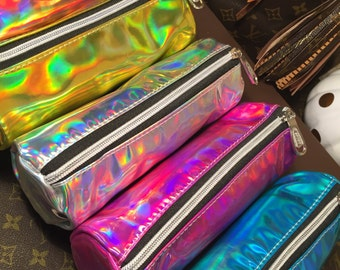 Holographic Multi Purpose Waterproof Pouches- GORGEOUS!