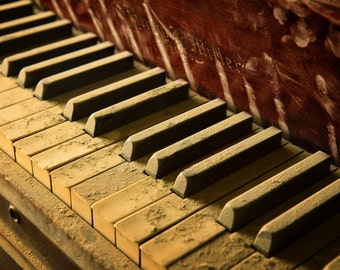 Antique Ivory Piano Keys Etsy