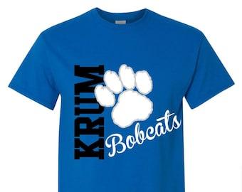 School Spirit Tshirt / Team Spirit Shirt