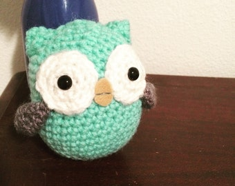 Mint Green Owl Plush