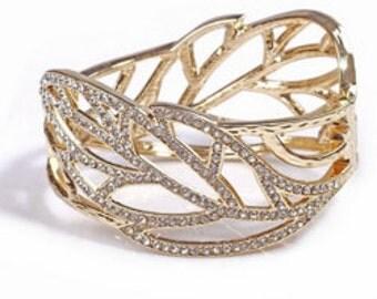 Delicate, Stunning, Gold Bracelet, Gorgeous Lady's Bracelet, Lady's Gift.