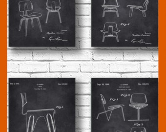 Eames Poster, Eames Chair, Eames Patent, Charles Ray Eames Art, Eames Decor,Eames Prints, Eames Chair Patent, Charles Eames, Chair