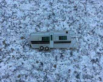 Vintage Deadstock RV Motorhome Trailer Pin