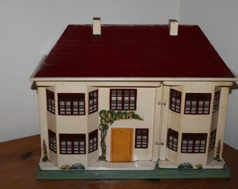 Vintage Dolls House Triang No 45 With Pivoting Front 1963 - 1964
