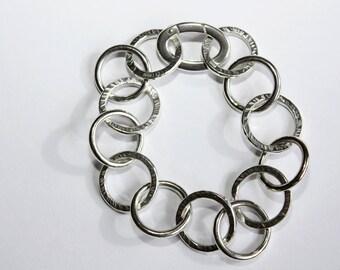 Nordic Light Silver Bracelet
