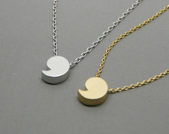Comma necklace, Apostrophe jewelry, Punctuation symbol pendant, Minimalist necklace, Original gift