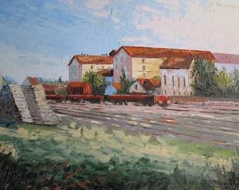 Bergerac tobacco warehouses