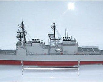 Rc Remote Control Spruance 1:100 Ship Boat (KIT)