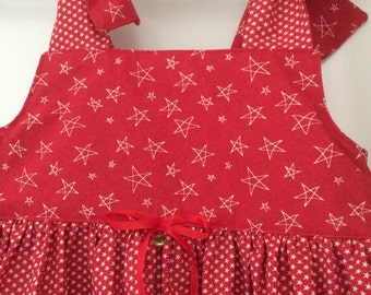 Items similar to girl xmas dress xmas fancy dress red xmas dress
