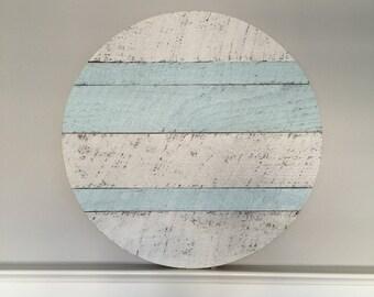 24-inch Monogrammed Wood Circle