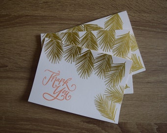 Fall Themed Thank You Cards