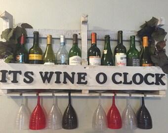 Its wine o clock wine rack