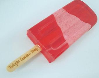 Soap Popsicle Soapsicle Detergent Free Base Handmade Soap Pop Glycerin SLS Free Base Customizable