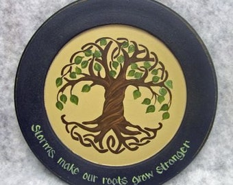 Twisted Tree Plate