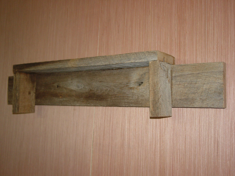 Rustic weathered reclaimed oak barn wood by