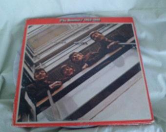 Beatles Red Album on Apple Label