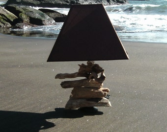 Driftwood table Lamp.