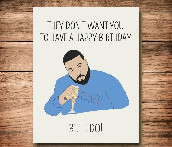 Funny Birthday Card, Funny For