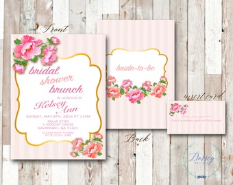 Country Chic Bridal Shower Invite