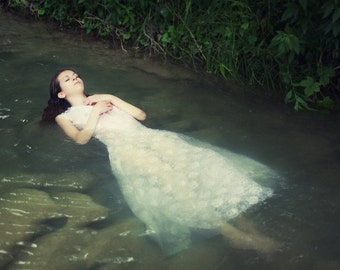 Ophelia Print Photography, Ethereal Art, Dramatic Fine Art, Surreal Photography, Woman Wall Art, Large Photo Print, Collectibles Gift