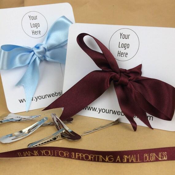"""Hair bow display, 4"""" x 5"""", bow display, hair clip display, bow display cards, bow cards, custom display cards, hair bow cards"""