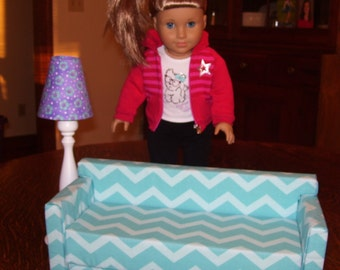 Gorgeous Doll House Sofa for American Girl Doll
