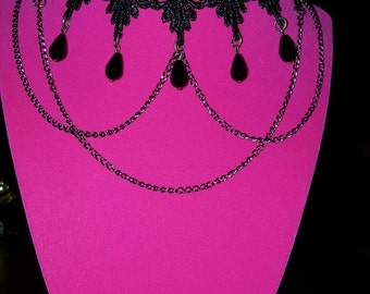 Crochet choker/necklace