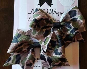 Pair of mini cheer bows prints