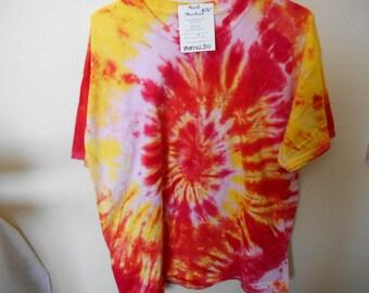 100% cotton Tie Dye T-shirt MMXL30 size XL