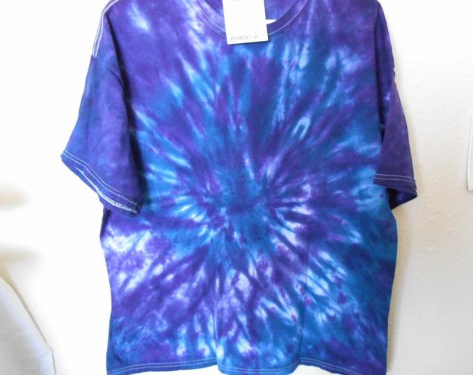 100% cotton Tie Dye T shirt MMXL6 size XL