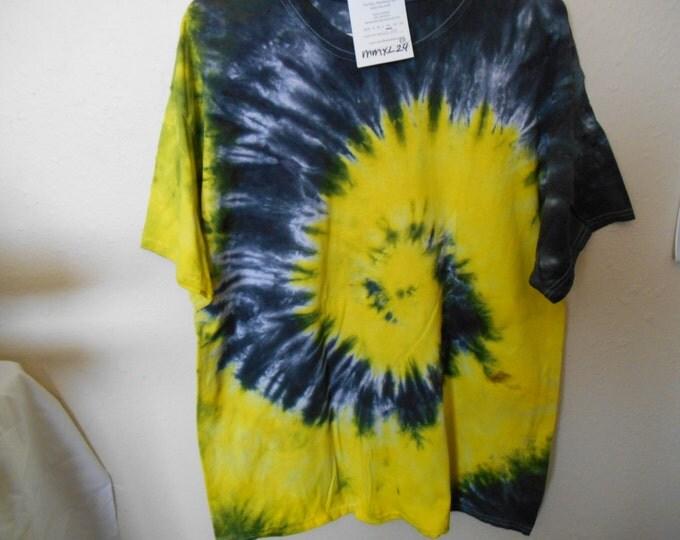 100% cotton Tie Dye T-shirt MMXL24 size XL