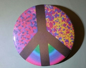 Peace - Button Pin - C-H10011