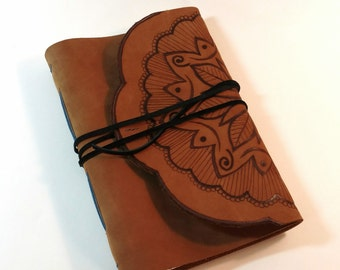The Dreamer - Tan Leather Journal