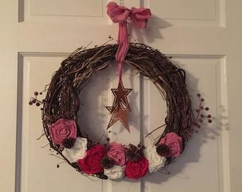Wreath, grapevine