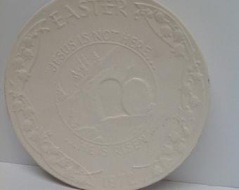 Vintage Frankoma Easter Plate 1972