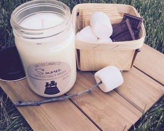 S'mores Handmade Soy Candle
