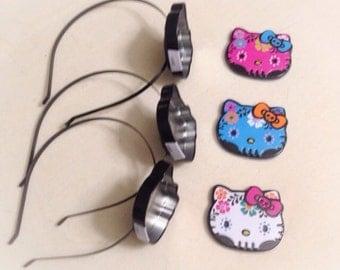 Hello Kitty Sugar Skull Tin Headband Limited Run