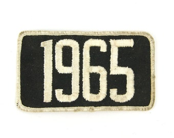 1965 Vintage Patch