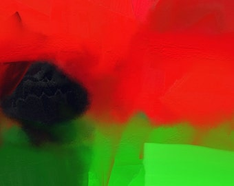 Abstract Digital Print