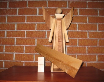 decorative wooden Angels