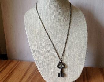 Vintage Barrel Key Necklace