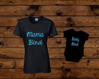 Mama And Baby Bird