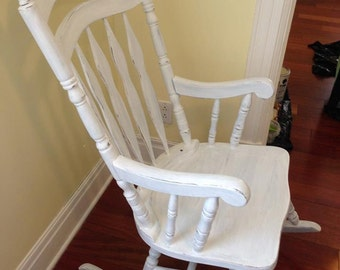 SOLD rocking chair