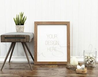 Styled Stock Photography, Frame Mockup, wood Frame mockup, Styled Photography Mockup, stock photo