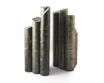 Stone Pillars Bookends