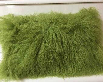 Unique Mongolian Fur Pillow Related Items Etsy